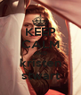 KEEP CALM AND kristen stwart - Personalised Poster A4 size