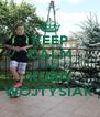 KEEP CALM AND KUBA WOJTYSIAK - Personalised Poster A4 size