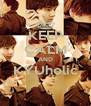KEEP CALM AND KYUholic  - Personalised Poster A4 size
