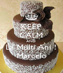 KEEP CALM AND La Multi Ani ! Marcelo - Personalised Poster A4 size