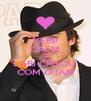 KEEP CALM AND LARI CASOU  COM O IAN - Personalised Poster A4 size