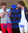 KEEP CALM AND LARRY STYLISON - Personalised Poster A4 size