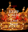 KEEP CALM AND Last King - Personalised Poster A4 size