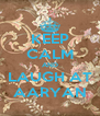 KEEP CALM AND  LAUGH AT  AARYAN - Personalised Poster A4 size