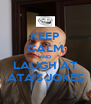 KEEP CALM AND LAUGH AT ATA'S JOKES - Personalised Poster A4 size