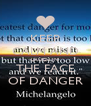 KEEP CALM AND LAUGH IN THE FACE OF DANGER - Personalised Poster A4 size