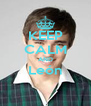 KEEP CALM AND León  - Personalised Poster A4 size