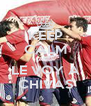 KEEP CALM AND LE VOY A CHIVAS - Personalised Poster A4 size