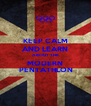 KEEP CALM AND LEARN ABOUT THE MODERN  PENTATHLON - Personalised Poster A4 size