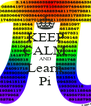 KEEP CALM AND Learn Pi - Personalised Poster A4 size