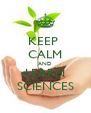 KEEP  CALM AND LEARN SCIENCES - Personalised Poster A4 size