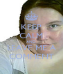 KEEP CALM AND LEAVE ME A COMMENT - Personalised Poster A4 size