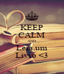 KEEP CALM AND Leia um Livro <3 - Personalised Poster A4 size