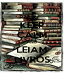 KEEP CALM AND LEIAM LIVROS - Personalised Poster A4 size
