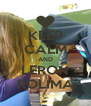 KEEP CALM AND LERON ROLIMA - Personalised Poster A4 size
