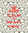 KEEP CALM AND let adc carry - Personalised Poster A4 size