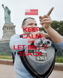 KEEP CALM AND LET BILLY  TEACH  - Personalised Poster A4 size