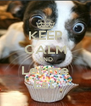 KEEP CALM AND Let me Eat  - Personalised Poster A4 size