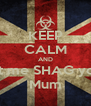KEEP CALM AND Let me SHAG your Mum - Personalised Poster A4 size