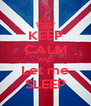 KEEP CALM AND Let me SLEEP - Personalised Poster A4 size