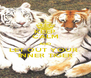 KEEP CALM AND LET OUT YOUR  INNER TIGER - Personalised Poster A4 size