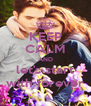 KEEP CALM AND let's start with forever - Personalised Poster A4 size