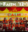 KEEP CALM AND LET'S WIN  THE GAME - Personalised Poster A4 size