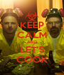 KEEP CALM AND LET'S COOK - Personalised Poster A4 size