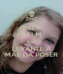 KEEP CALM AND LEVANTE A MÃE DA POSER - Personalised Poster A4 size