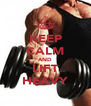 KEEP CALM AND LIFT HEAVY - Personalised Poster A4 size