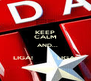 KEEP CALM   AND...  LIGA!            LIGA! - Personalised Poster A4 size
