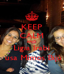 KEEP CALM AND Ligia Irabi  usa Mimos Bijú - Personalised Poster A4 size