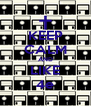 KEEP CALM AND LIKE 4e - Personalised Poster A4 size