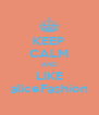 KEEP CALM AND LIKE aliceFashion - Personalised Poster A4 size