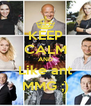 KEEP CALM AND Like ant MMG ;) - Personalised Poster A4 size