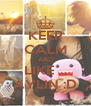 KEEP CALM AND LIKE ... AYLIN :D - Personalised Poster A4 size