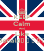 KEEP Calm And Like Bønald♦ ♫ ♪ ♀ ♂ - Personalised Poster A4 size