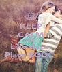 KEEP CALM AND Like daca  Place BGDC  - Personalised Poster A4 size