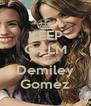 KEEP CALM AND LIKE Demiley Gomez - Personalised Poster A4 size