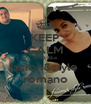 KEEP CALM AND Like fasion&style  romano - Personalised Poster A4 size