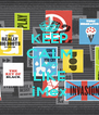 KEEP CALM AND LIKE iMex - Personalised Poster A4 size