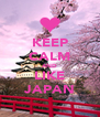KEEP CALM AND LIKE JAPAN - Personalised Poster A4 size