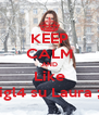 KEEP CALM AND Like Migl4 su Laura ;D - Personalised Poster A4 size
