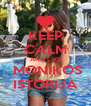 KEEP CALM AND LIKE  MONIKOS ISTORIJA - Personalised Poster A4 size