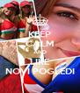 KEEP CALM AND LIKE NOVI POGLEDI - Personalised Poster A4 size