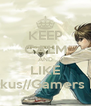 KEEP CALM AND LIKE Otakus//Gamers Life - Personalised Poster A4 size