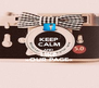 KEEP CALM AND  LIKE »OUR PAGE« - Personalised Poster A4 size