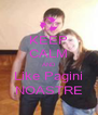 KEEP CALM AND Like Pagini NOASTRE - Personalised Poster A4 size
