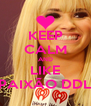 KEEP CALM AND LIKE PAIXÃO DDL - Personalised Poster A4 size