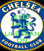 KEEP CALM AND LIKE SEAN ON - Personalised Poster A4 size